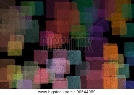 Abstract Pastel Squares