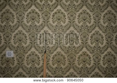 Wallpaper Pattern And Light Switch