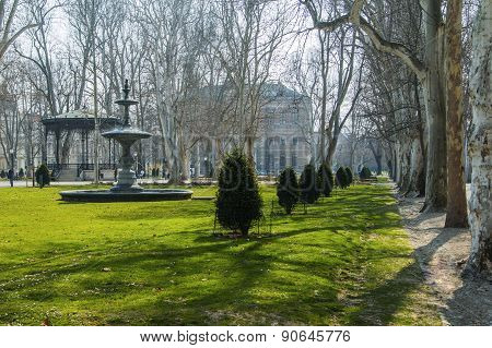 Park Zrinjevac in Zagreb