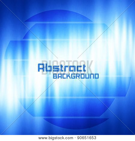 Abstract Dark Blue Digital Background