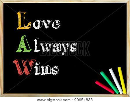Acronym Law As Love Always Wins