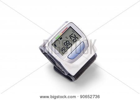 Device For Measurement Of Arterial Pressure Upon A Wrist
