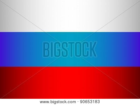 Russian Tricolor - White, Blue, Red