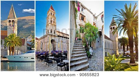 Unesco Town Of Trogir Architecture Collage