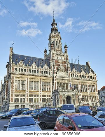 Town Hall Of Shaerbeek, Brussels