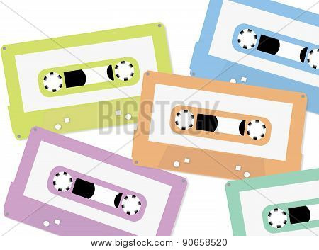 Cassette Tape background