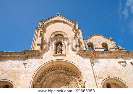 Church of St. Giovanni. Matera. Basilicata. Italy.