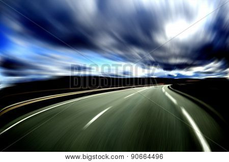 Abstract road