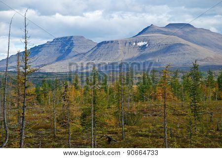 The Western Edge Of The Plateau Putorana Plateau.