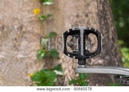 Pedal of mountain bike