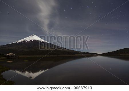 Cotopaxi At Night