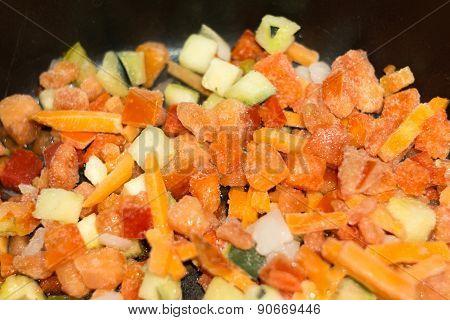 Frozen Vegetables Macro
