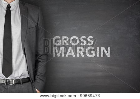 Gross margin on blackboard