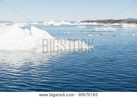 Arctic Landscape In Greenland