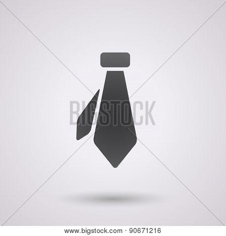 Black Necktie Background