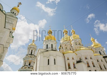 White orthodox church