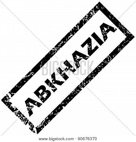 ABKHAZIA rubber stamp