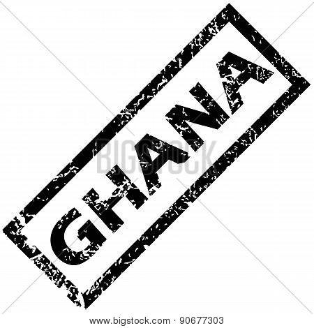 GHANA rubber stamp