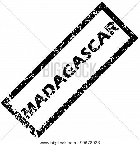 MADAGASCAR rubber stamp