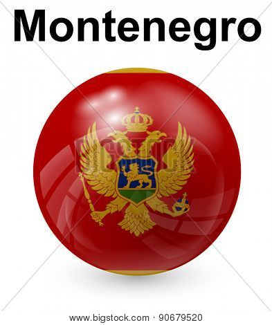 montenegro official state flag
