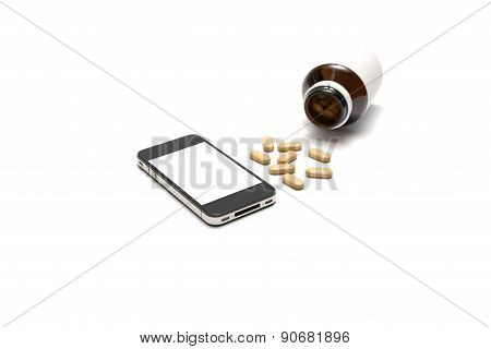 Smart Phone With Drug