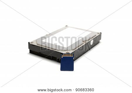 Sd Card And Hard Disk