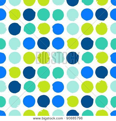 Modern hipster background with dots
