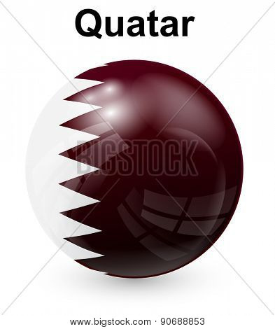 quatar  official state flag