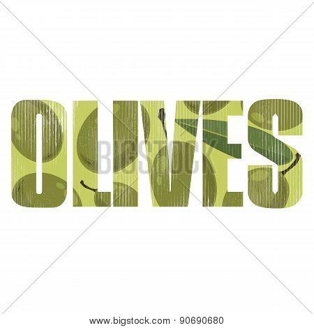 Olives Sign