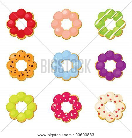 Ring Donuts Set