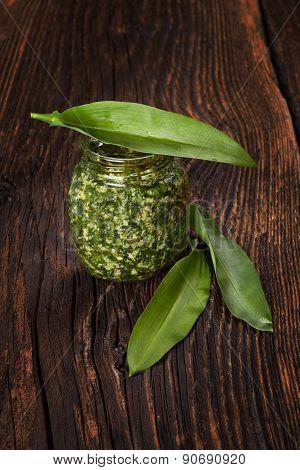 Garlic Pesto.