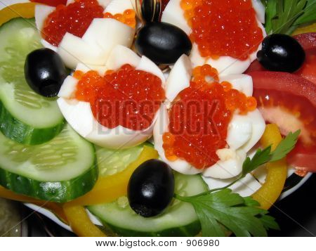Snack With Caviar
