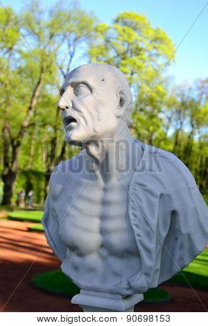 Roman Philosopher Seneca Statue.