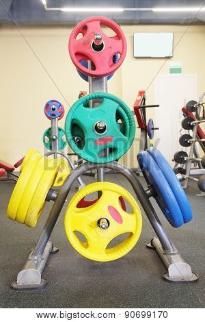 The image of fitness equipment
