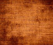 foto of alloy  - Grunge background of alloy orange burlap texture for design - JPG