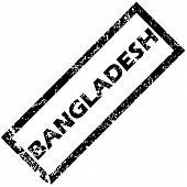 pic of bangladesh  - Vector rubber stamp with name BANGLADESH - JPG