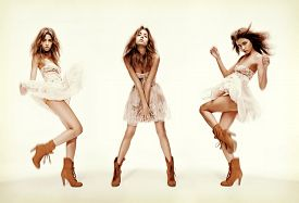 picture of slim model  - fashion and glamour concept  - JPG