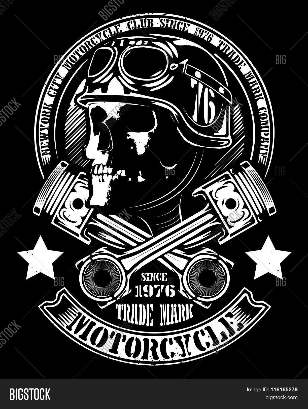 bikers skull logo - photo #19