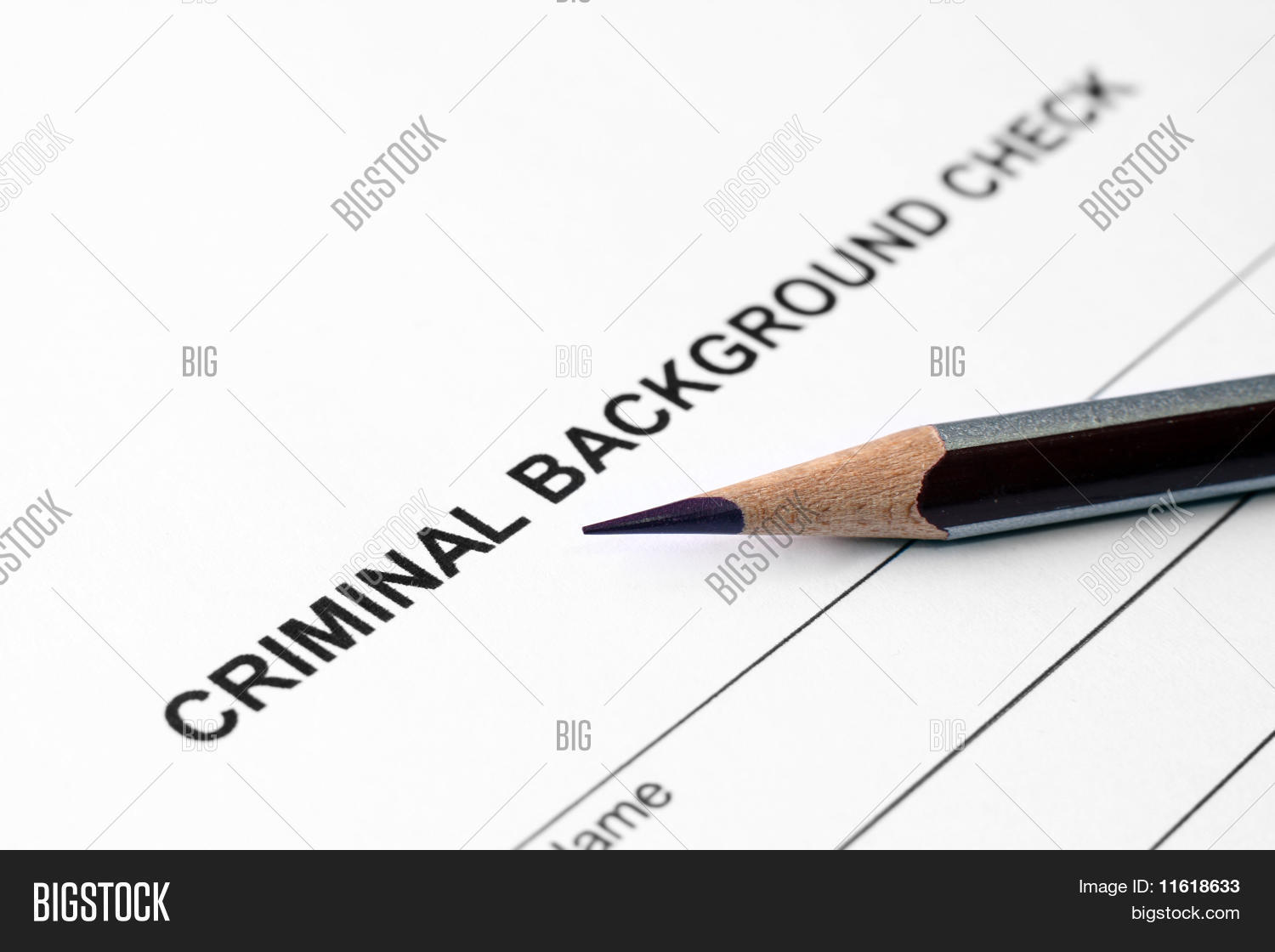 Criminal Background Check Stock Photo Amp Stock Images