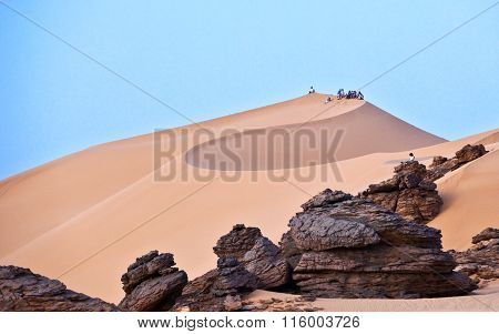 Libya desert