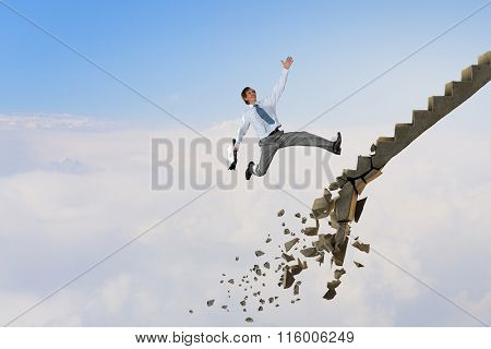 Up the career ladder overcoming challenges