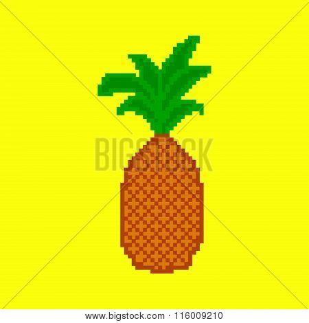 Pixel pineapple