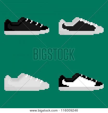 Pixel boots