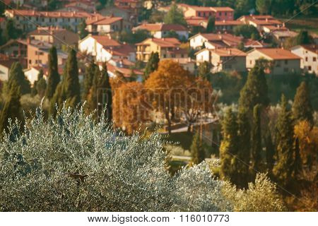 Tuscany old town