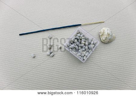 Incense In The Box, Shell And Incense