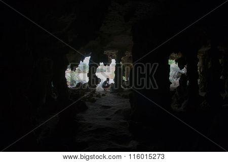 Bonaire Island Cave