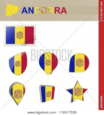 Andorra Flag Set, Flag Set #41
