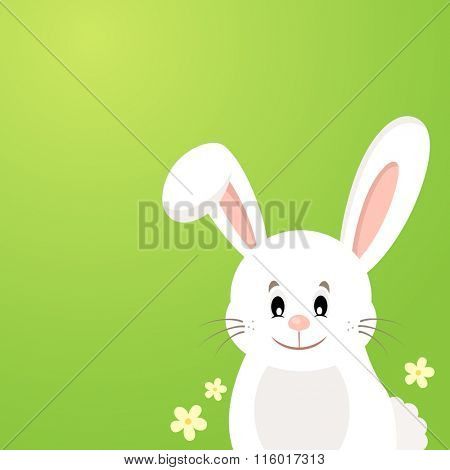 Easter bunny thematic image 3 - eps10 vector illustration.