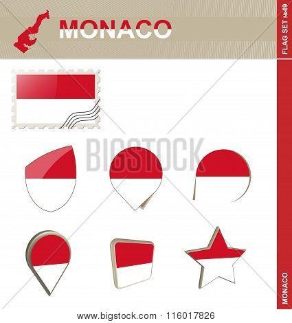 Monaco Flag Set, Flag Set #49