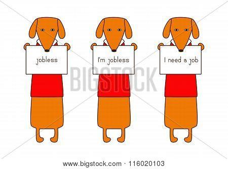 Jobless Dachshund